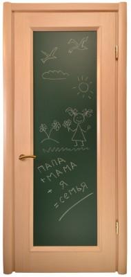 Міжкімнатні двері Меранті Плюс Єна глухі двері Крейдова дошка