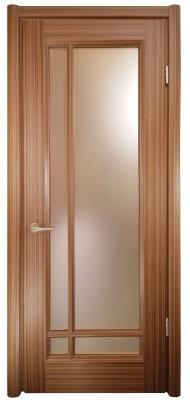 Міжкімнатні двері Меранті Плюс Ліон двері зі склом