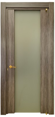 Міжкімнатні двері Меранті Плюс Бос зі склом