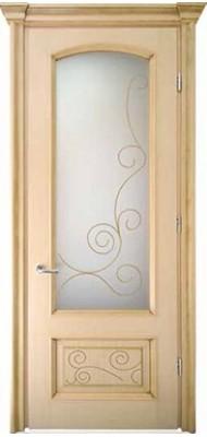 Міжкімнатні двері Меранті Плюс Флоренція зі склом