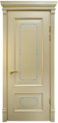 Міжкімнатні двері Меранті Плюс Бріоні Cream глухі двері
