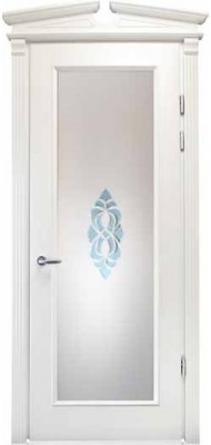 Міжкімнатні двері Меранті Плюс Єна зі склом BEV