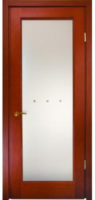 Міжкімнатні двері Меранті Плюс Єна зі склом - Камінь 20