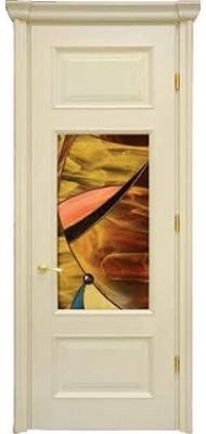 Міжкімнатні двері Меранті Плюс Преміум Вітраж Premium 2