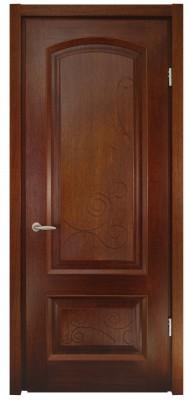 Міжкімнатні двері Меранті Плюс Флоренція глуха венге