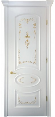 Міжкімнатні двері Меранті Плюс Фаберже глухі двері