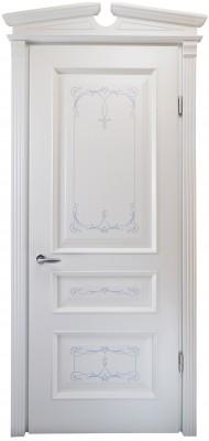 Міжкімнатні двері Меранті Плюс Олександрія двері глухі з порталом