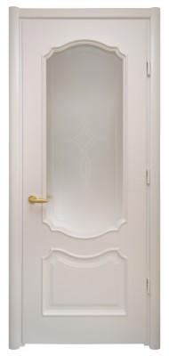 Міжкімнатні двері Меранті Плюс Рішельє зі склом