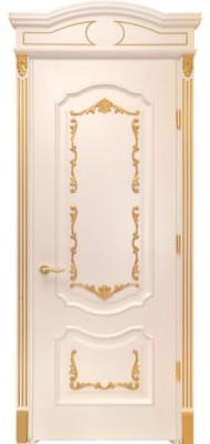 Міжкімнатні двері Меранті Плюс Рішельє Gold глухі двері