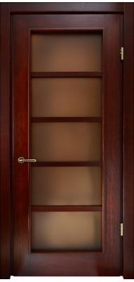 Міжкімнатні двері Меранті Плюс Альта-1 двері зі склом
