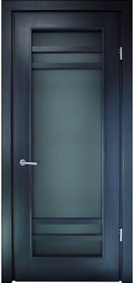 Міжкімнатні двері Меранті Плюс Альта-2 зі склом
