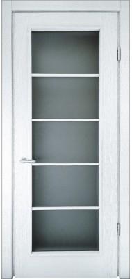 Міжкімнатні двері Меранті Плюс Нота-1 зі склом