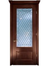 Міжкімнатні двері Меранті Плюс Бріоні двері зі склом