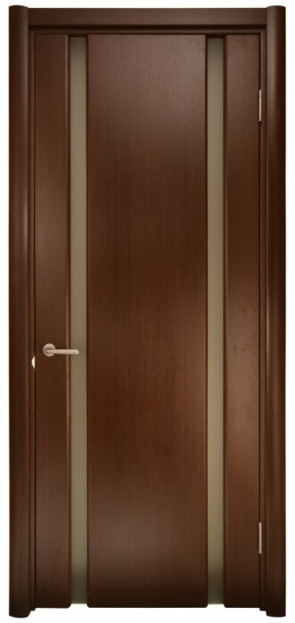 Міжкімнатні двері Меранті Плюс Новара зі склом