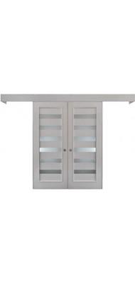 Міжкімнатні двері Меранті Плюс Розсувна система Альберо 2
