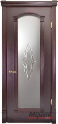 Міжкімнатні двері Меранті Плюс Гранада зі склом