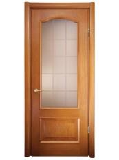 Міжкімнатні двері Меранті Плюс Мадрид зі склом решітка
