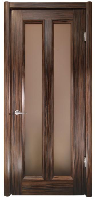 Міжкімнатні двері Меранті Плюс Лондон зі склом