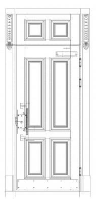 Вхідні двері Новий світ 4022