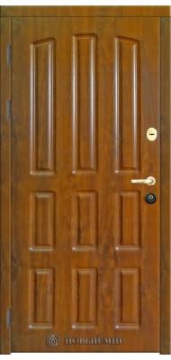Вхідні двері Новий світ Наталі-Шоколадка