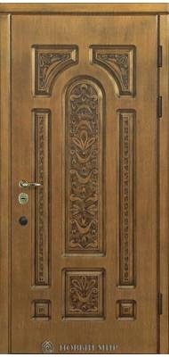 Вхідні двері Новий світ Русь з повним різьбленням