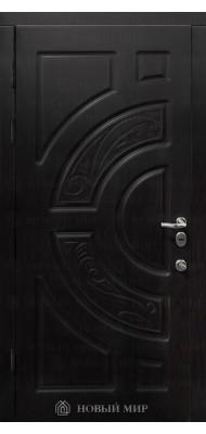 Вхідні двері Новий світ Світанок з різьбленням