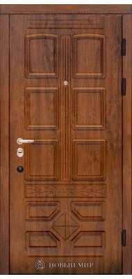 Вхідні двері Новий світ Ретро з накладними елементами