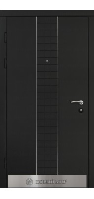 Вхідні двері Новий світ Форте з молдингом