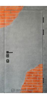 Вхідні двері  Новий світ  Бетон-Кирпич