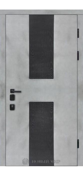 Вхідні двері Новий світ Бетон-Сосна