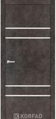 Міжкімнатні двері Корфад ALUMINIUM LOFT PLATO ALP-04